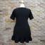ชุดดำพร้อมส่ง สำหรับสาวอวบ++ F 36-43 นิ้ว T5108 thumbnail 9